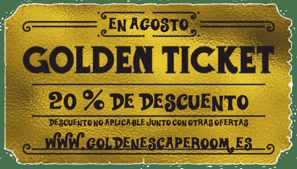 Descuento Golden Escape Room