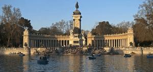 Lugares turisticos en Madrid